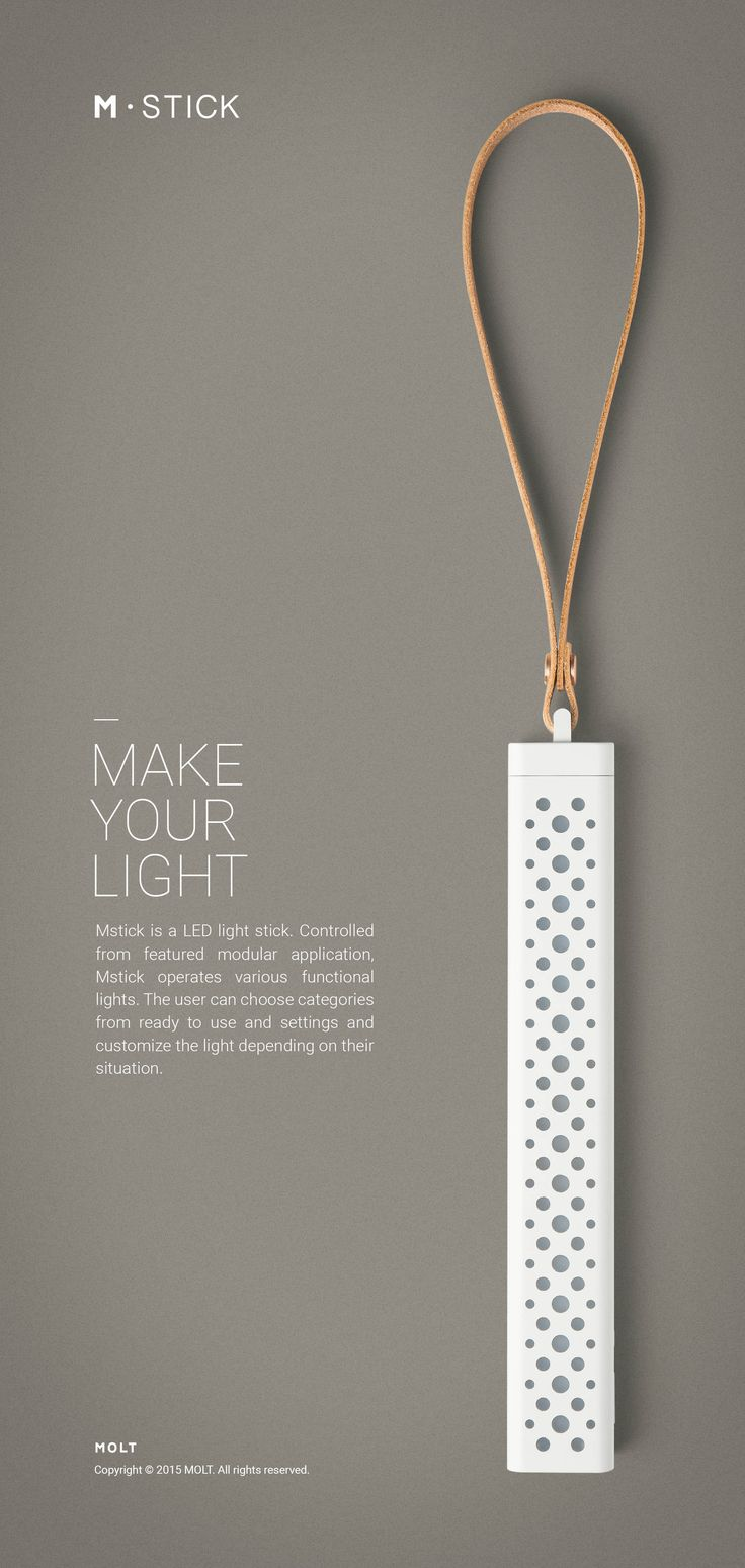 Mstick - VARIOUS FUNCTIONAL SMART LIGHT