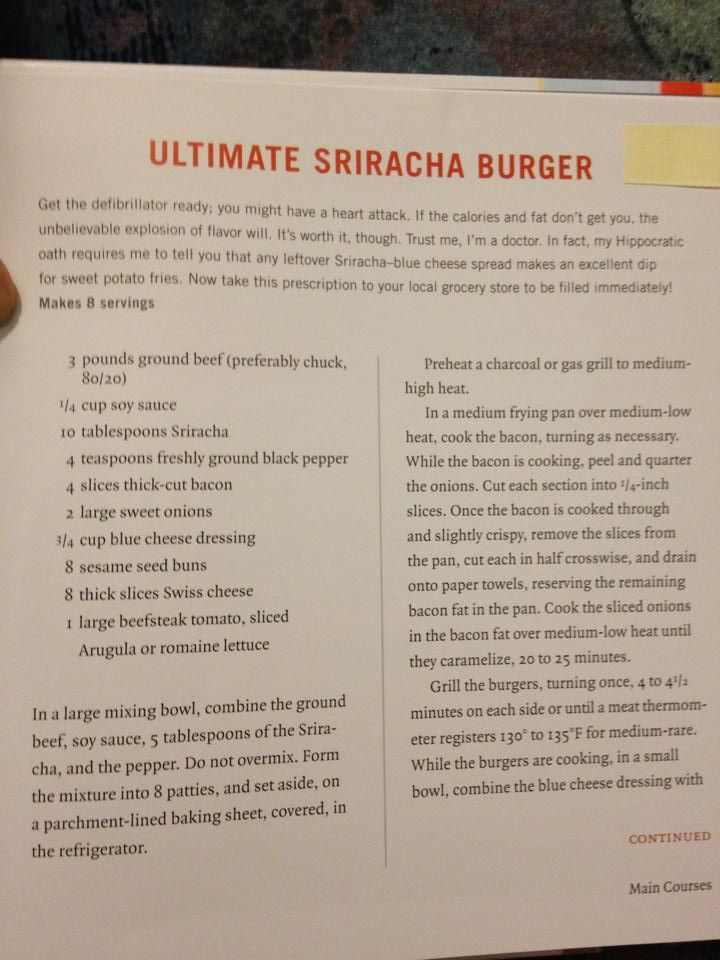 Ultimate Sriracha Burger Part 1 | Sandwiches, Burgers, Wraps and Dogs ...