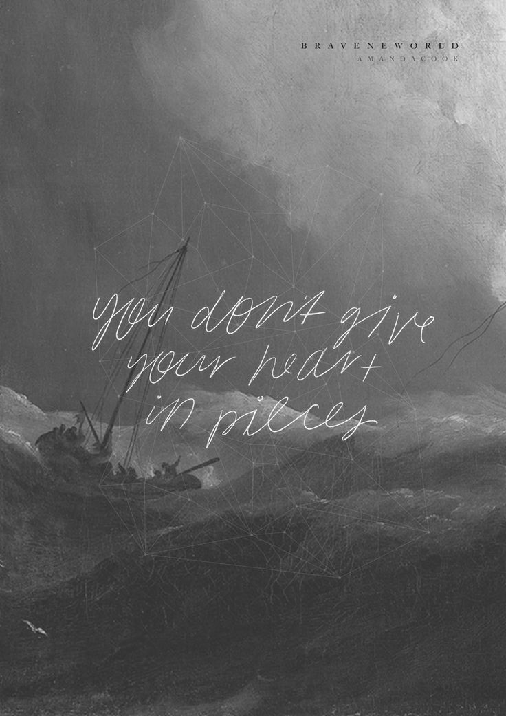 """You don't give Your heart in pieces."" // Pieces // Amanda Cook #BraveNewWorld http://bit.ly/BNWPreOrder:"
