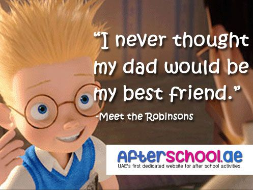 walt disney saying at the end of meet robinsons