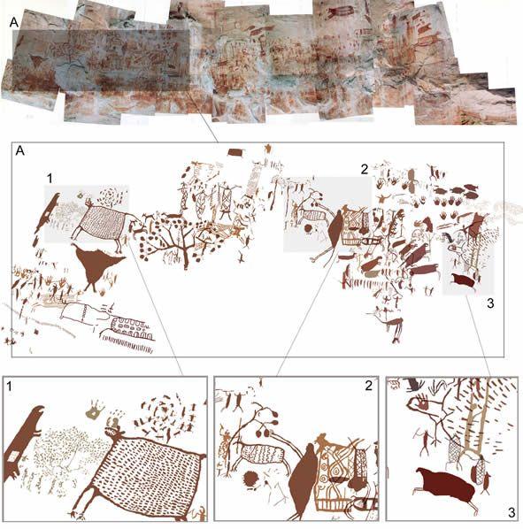 Resultado de imagen para chiribiquete pinturas rupestres