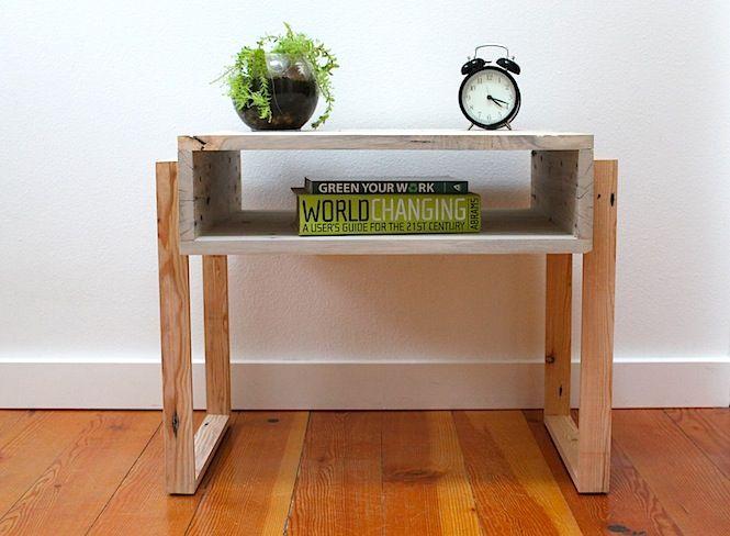 17 best images about pallet ideas on pinterest garden for Modern nightstand ideas