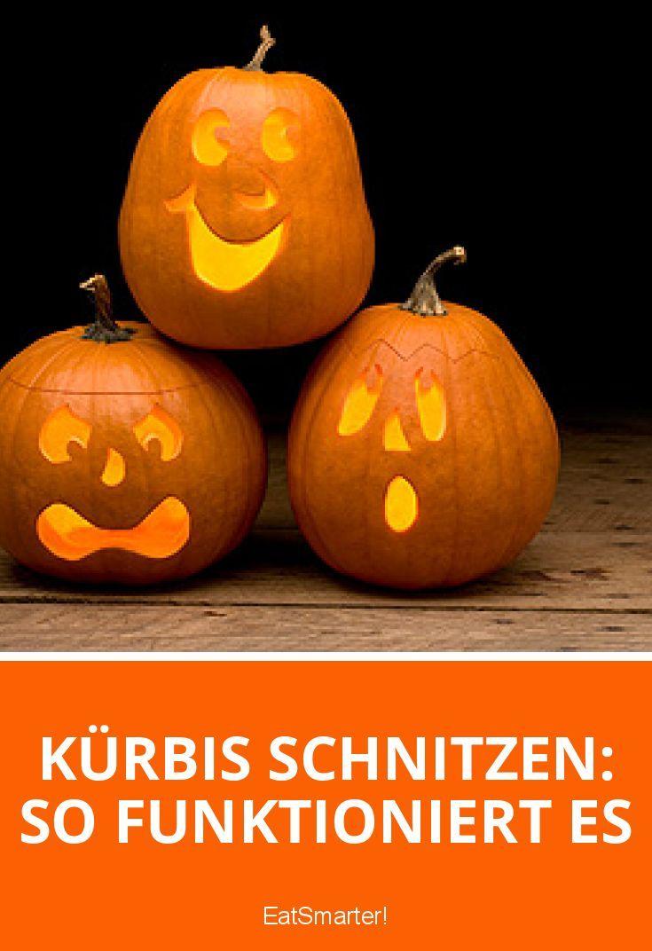Kürbis schnitzen: So funktioniert es | eatsmarter.de
