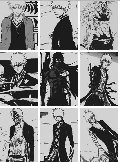Kurosaki Ichigo the power levels. Bleach manga