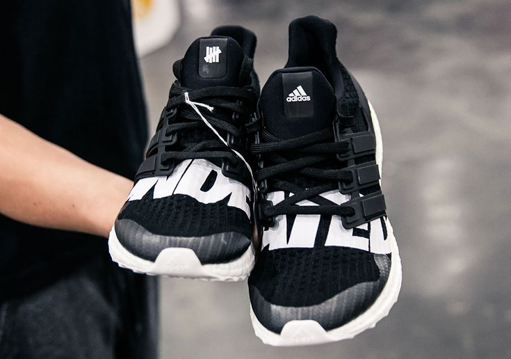 Undefeated adidas Ultra Boost Black White 2018 Release #thatdope #sneakers #luxury #dope #fashion #trending