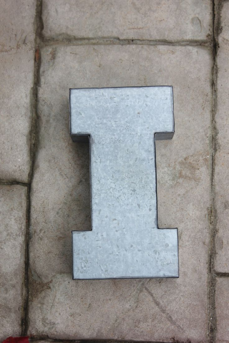 Best 25+ Large metal letters ideas on Pinterest | Marquee letters, Metal  garden table and Floral foam