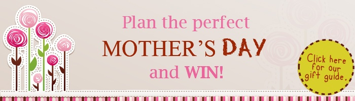Create a Mother's Day Pinboard on Pinterest, showing us your ideas for celebrating the day, for a chance to win two spa vouchers plus two hampers of books!
