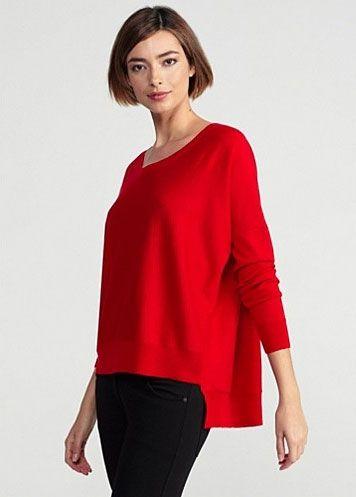 EF Lava ballet neck merino sweater