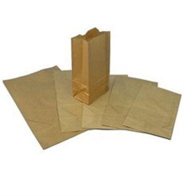 Bolsa de Papel SIN Asas KRAFT 23+13x37cm ( 50 Unidades) - VajillaDesechable - Portal de Venta de Vajilla de Plastico y Envases de Plastico