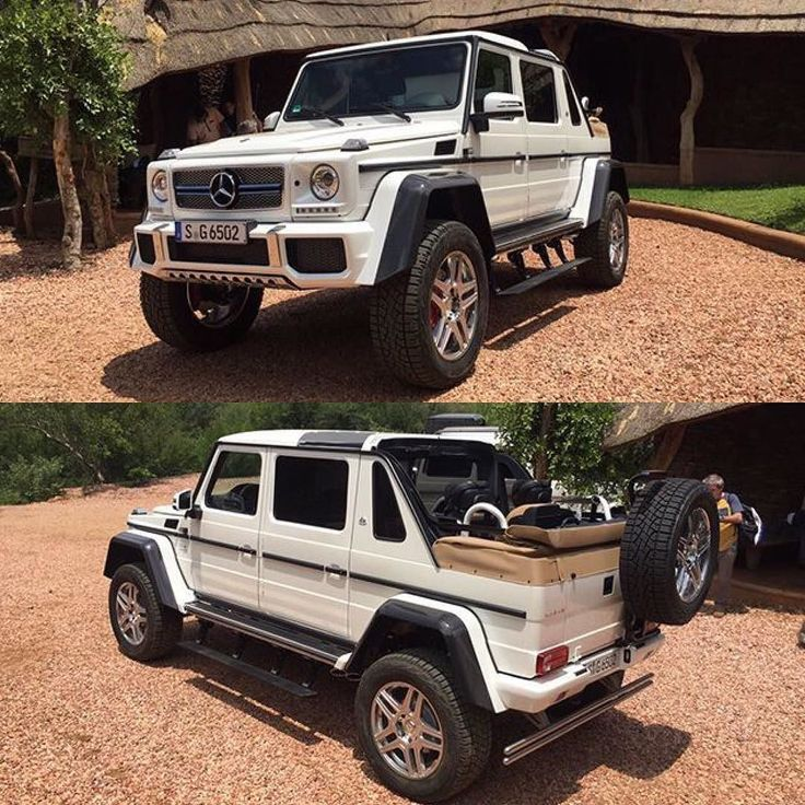 The Mercedes-Maybach G650 Landaulet has leaked and the photos were snapped at Madikwe Game Reserve in sunny South Africa  Read more and see more @ Zero2Turbo.com  #ExoticSpotSA #Zero2Turbo #SouthAfrica #MercedesMaybach #G650 #Landaulet