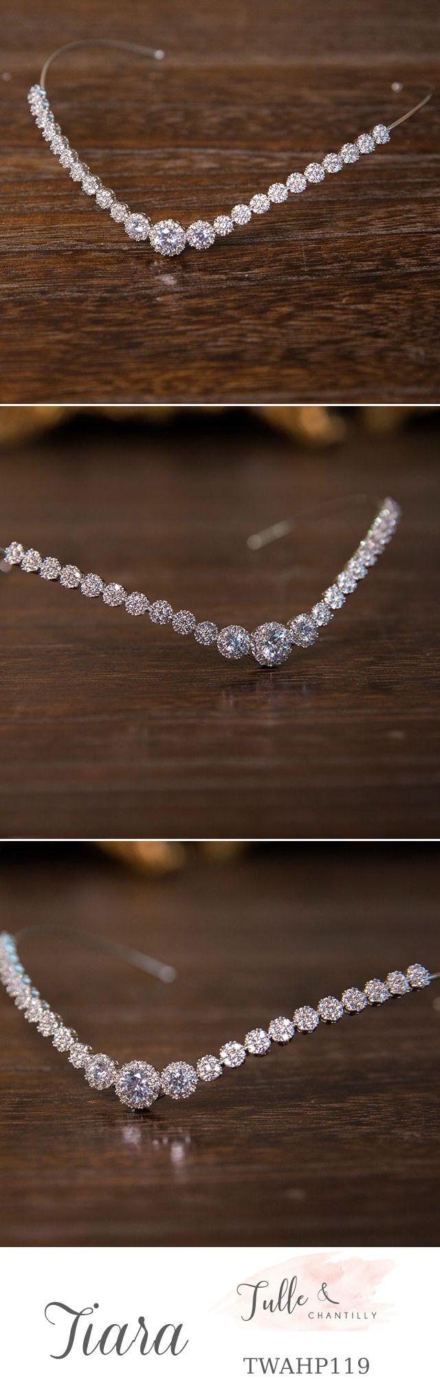 sparkly wedding   hair accessories    bridal headwear