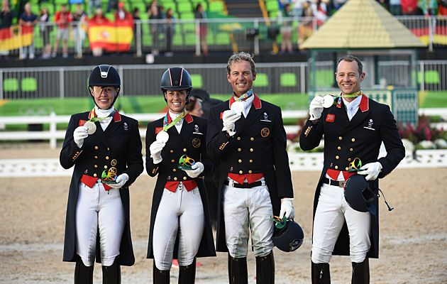 Rio Olympics dressage Britain silver