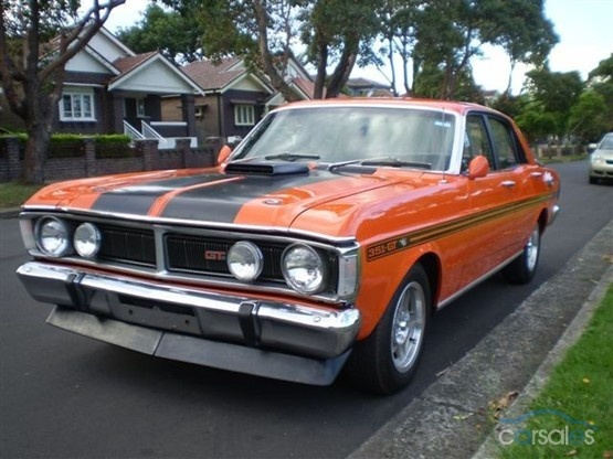 1971 Ford Falcon XY GTHO PHASE III