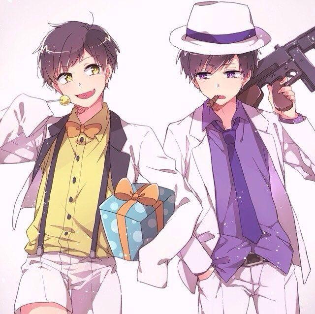 Osomatsu-san- Ichimatsu and Jyushimatsu #Anime「♡」