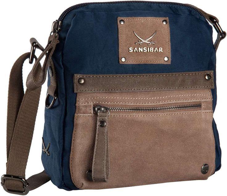 Sansibar Colla Crossover Bag Jeans - Umhängetasche