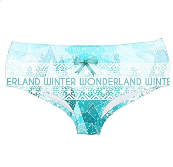 33a35f1e08a Sixcup Christmas Underwear Outfit Women's Teenage Girls Ladies Knickers  Panties Briefs Yoga Pants Underwear Pants (Waist 64-84cm, A): Amazon.co.uk:  Clothing