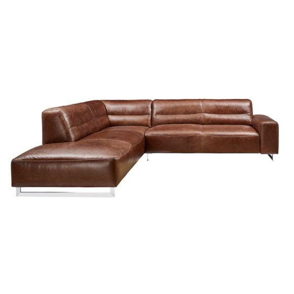 Eckcouch modern braun  Die besten 25+ Sofa leder Ideen auf Pinterest | Couch leder, Leder ...