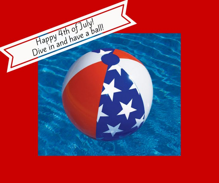fourth of july pool decorations