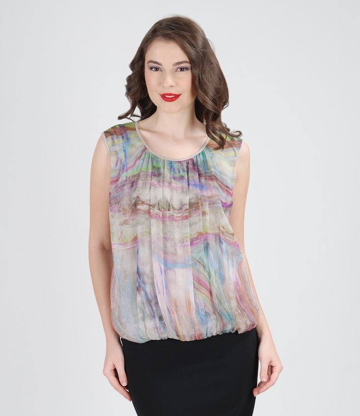 Veil blouse for a fresh day #yokko #womensfashion #blouses #style