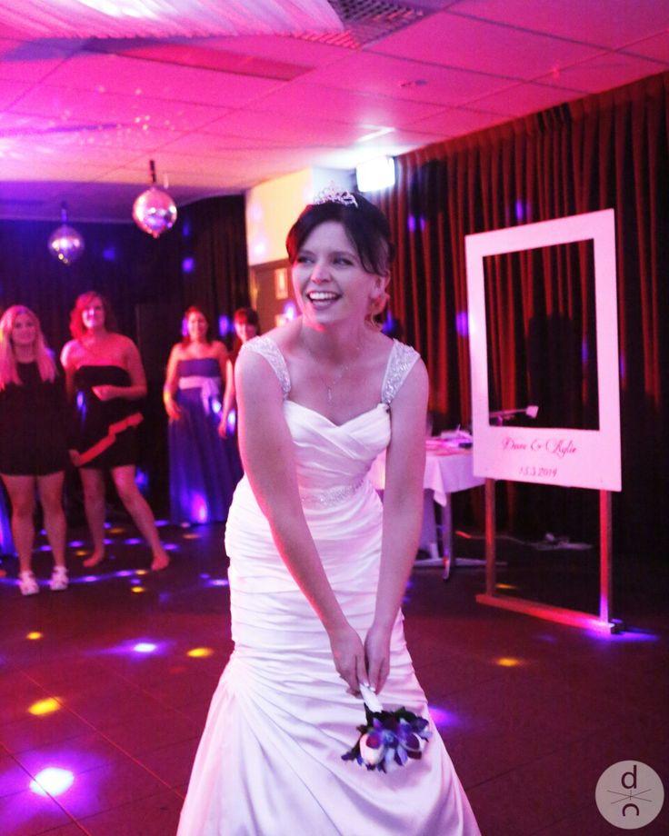 Kylie on her wedding day   #wedding #bouquet