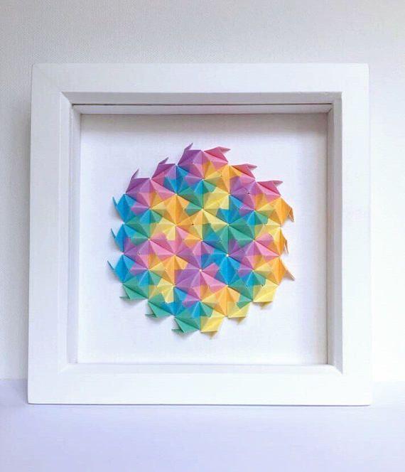 Best 25+ Origami wall art ideas on Pinterest   Paper wall ...
