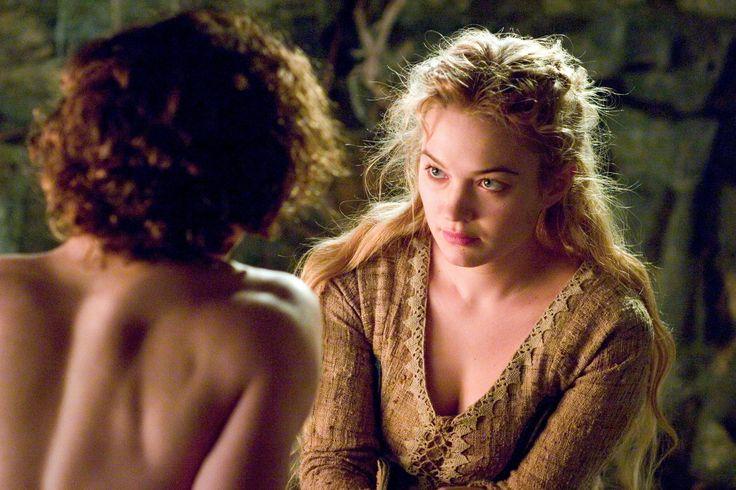 "Sophia Myles and James Franco in ""Tristan + Isolde"" (2006)"