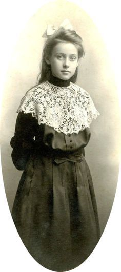 Vintage Picture of a girl.