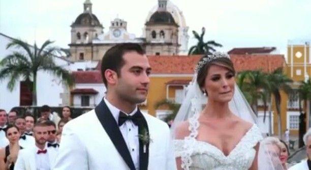 MISS UNIVERSO 2009  STEFANIA FERNANDEZ  SE CASO EN LA CIUDAD AMURALLADA  La venezolana con el.corazon en su país , termino casándose en la.hermana Colombia. Con todo el.amor por su Venezuela  @Regrann from @stefaniafernandezk -  Siempre estás en mi ����❤️... Te quiero libre y en PAZ�� .... Gracias infinitas por el video @ancora_studios ... Mi BAR, esposo TE AMO !!! - - By @ancora_studios ��Porque amando a tu país se aprende a amar a los demás. Con Venezuela en la mente y en el corazón hoy y…