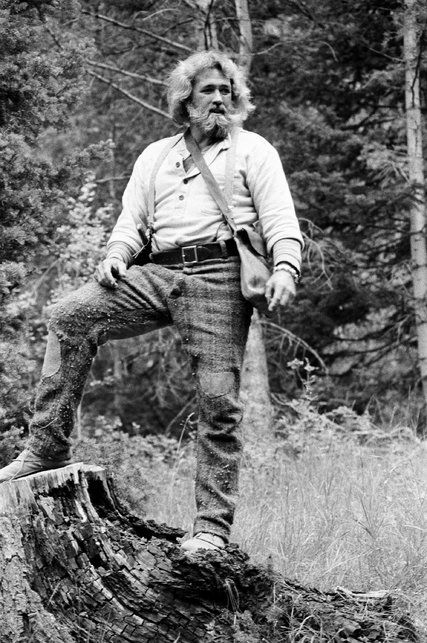 """Mr. Haggerty parlayed a beard and a bear into a role that endeared him to viewers of a film and television series both titled """"The Life and Times of Grizzly Adams."""""""
