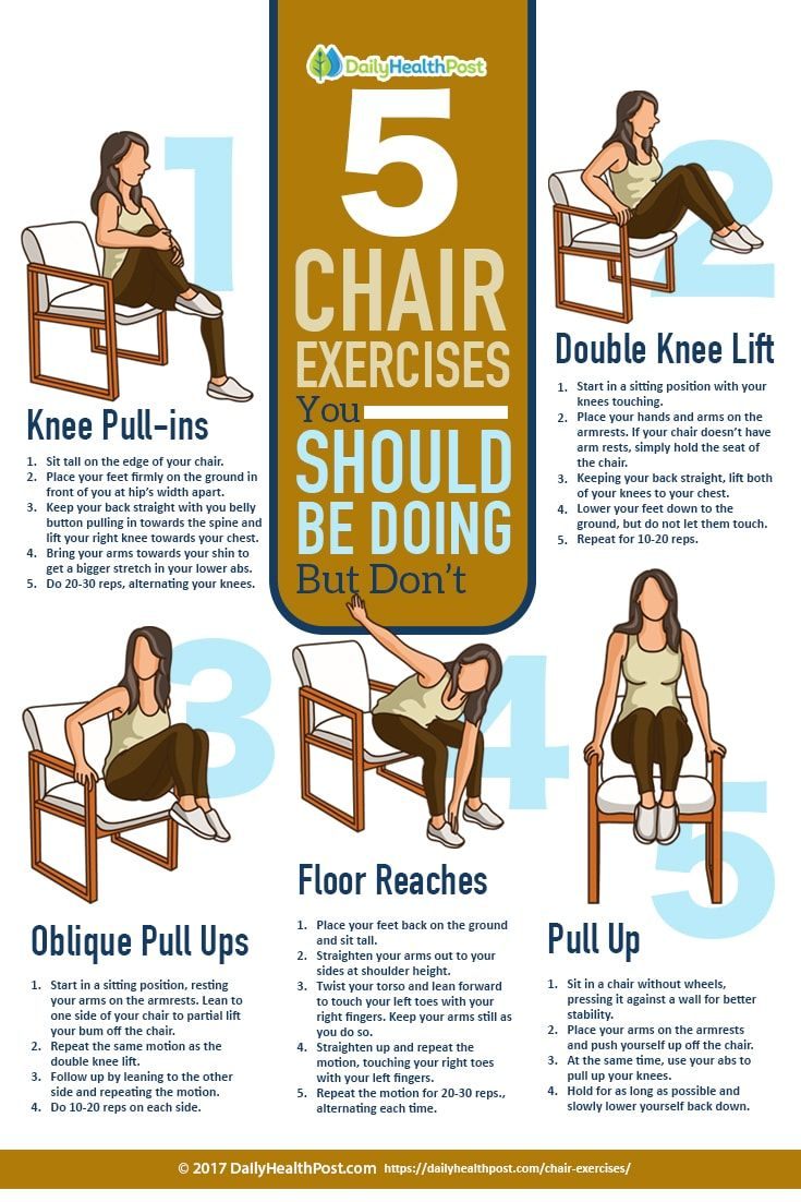 Chair exercises for seniors - Chair Exercises