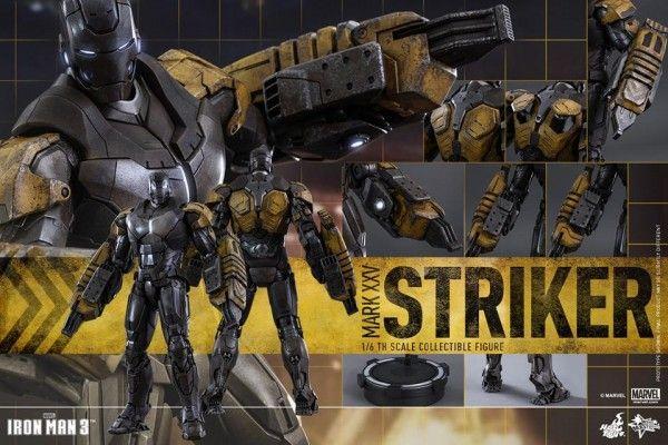 ToyzMag.com » Iron Man Striker : une nouvelle armure signée Hot Toys