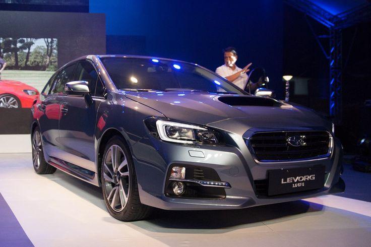 Subaru PH introduces new mid-size car Levorg