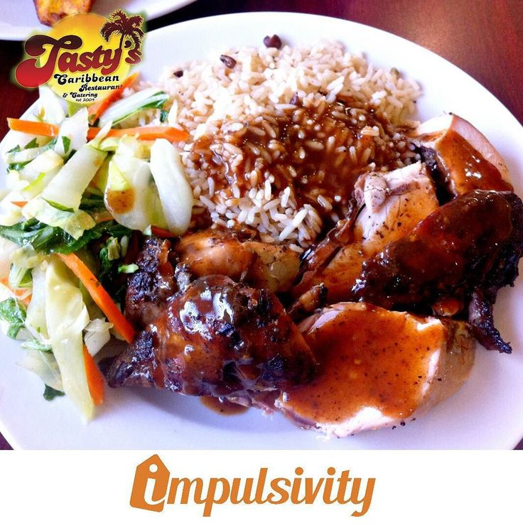 Tastys Caribbean Restaurant offers you $5.99 ALL DAY SPECIAL - your choice of rice 4 flavours of chicken and a side!  Find this deal and many others on your #ImpulsivityApp.  Download it for FREE at the AppStore & Google Play.  #Toronto #ImpulsivityDeal