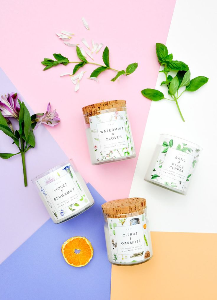 LEIF botanist candles