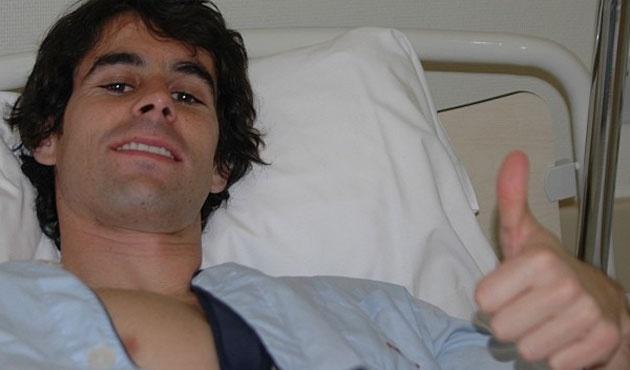 Tiago, operado con éxito