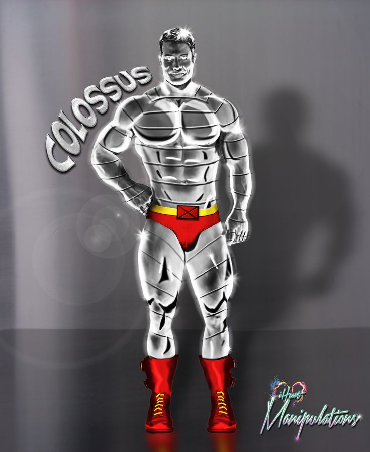 #Colossus #Xmen design See more at Facebook.com/iheartmanipulations