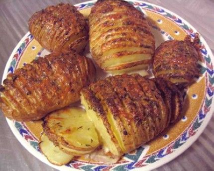 Weight Watchers Sliced Baked Potatoes recipe – 4 points