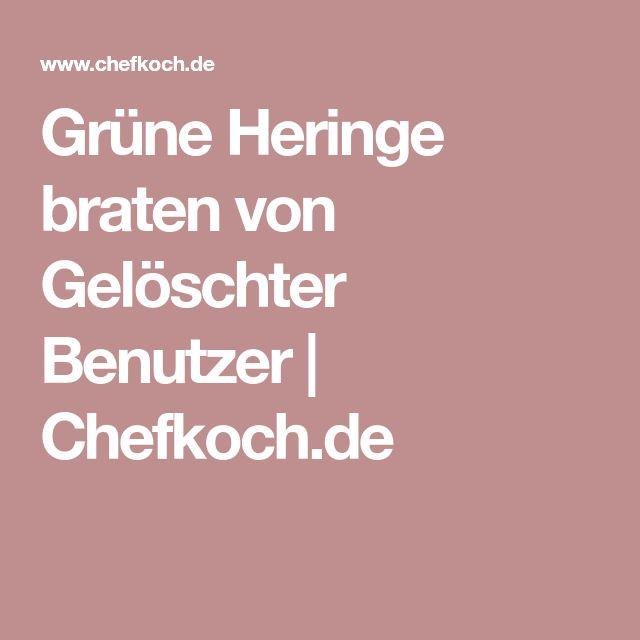 Grüne Heringe braten von Gelöschter Benutzer   Chefkoch.de