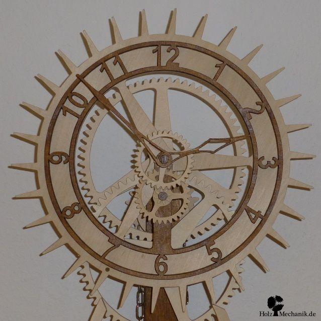 392 best wooden gear clock images on pinterest wooden. Black Bedroom Furniture Sets. Home Design Ideas