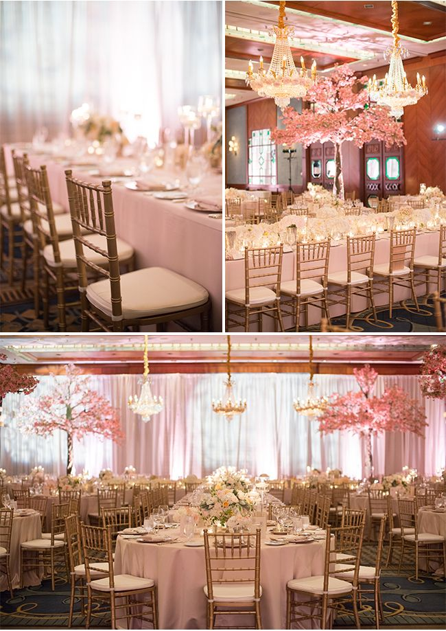 An Elegant Wedding Reception at The Four Seasons Hotel in Vancouver on Style Unveiled