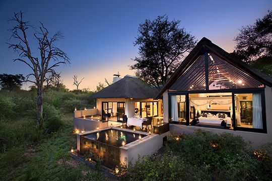 Gorgeous view at Ivory Lodge (One of a few special places by More Hotels)  #Design #Opulent #Living #Architecture #Africa  See more at www.mtbeds.co.za