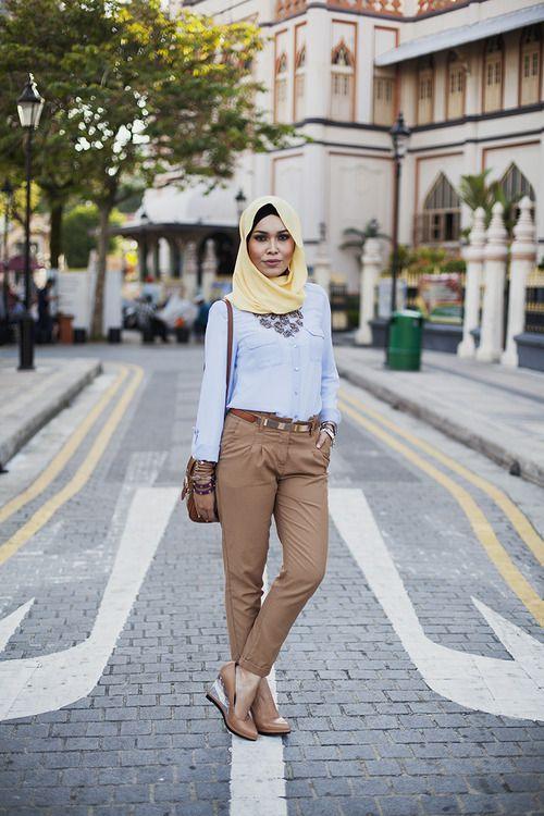Adlina Anis | Modest Street Fashion