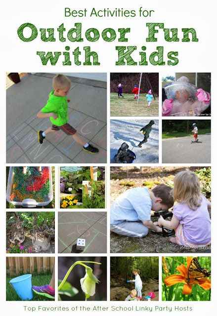 Top Activities for Outdoor Fun and Adventures with Kids.  Let's kick off the year outdoors and exploring this year.