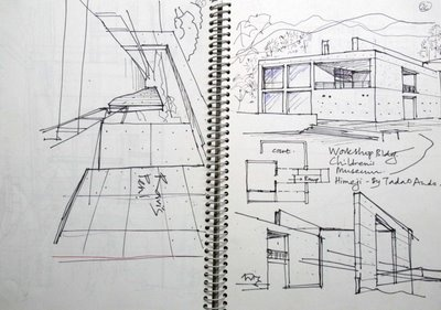 tadao ando sketches