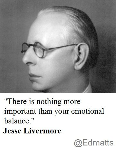 Emotion is everything in trading.
