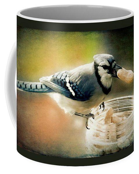The Original Peanut Buster Coffee Mug by Leslie Montgomery.  Small (11 oz.)