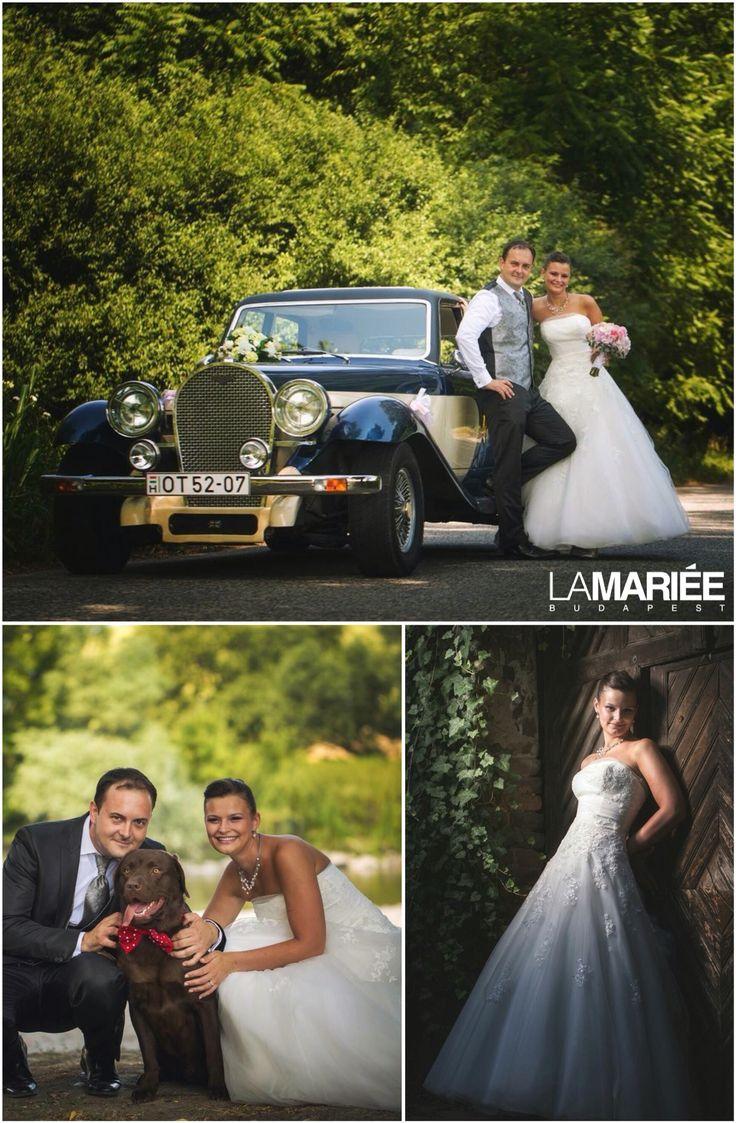 Ocotal esküvői ruha - Pronovias kollekció - Mónika  menyasszonyunk  http://mobile.lamariee.hu/eskuvoi-ruha/pronovias-2015/ocotal