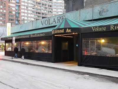 Volare Restaurant Chicago Italian Restaurant 201 East Grand Avenue Chicago Il