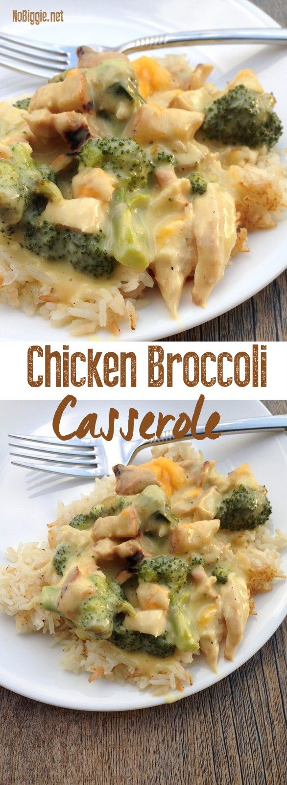 Chicken Broccoli Casserole recipe with video | NoBiggie.net