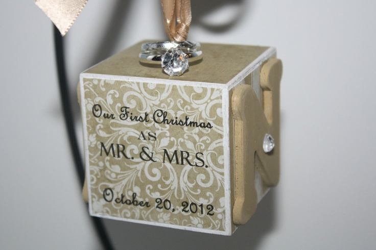 Christmas Ornament Wedding Gift: Best 25+ Our First Christmas Ornament Ideas On Pinterest